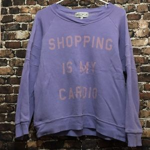 Wildfox size S shopping is my cardio